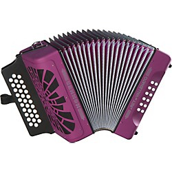 Hohner El Rey Del Vallenato FBbEb Accordion (RVFB)