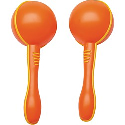 Hohner Kids Mini Maracas Pair, Assorted Colors (S363)