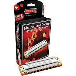 Hohner Marine Band Deluxe Harmonica M2005 (M2005BX-A)