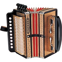 Hohner One Row Cajun Accordion (114-D)