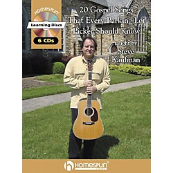 Homespun 20 Gospel Tunes That Every Parking Lot Picker Should Know Guitar Book with CD (641717)