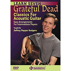 Homespun 7 Grateful Dead Classics For Acoustic Guitar: Easy Arrangements For Intermediate DVD (642141)