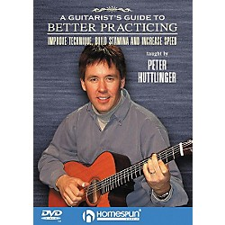 Homespun A Guitarist's Guide to Better Practicing (DVD) (641611)