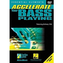 Homespun Accelerate Your Bass Playing (DVD) (320437)