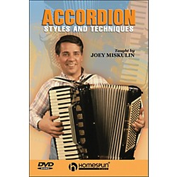 Homespun Accordion Styles And Techniques (DVD) (641861)