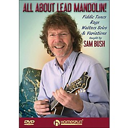 Homespun All About Lead Mandolin Fiddle Tunes Rags Waltzes Solos And Variations DVD (642139)