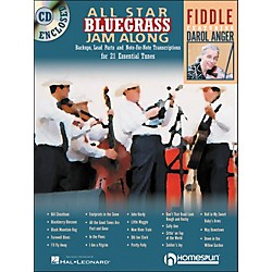 Homespun All Star Bluegrass Jam-Along For Fiddle Book/CD (641946)