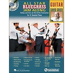 Homespun All Star Bluegrass Jam-Along For Guitar Book/CD (641943)