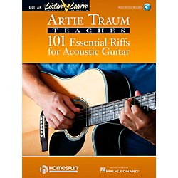 Homespun Artie Traum Teaches 101 Essential Riffs for Acoustic Guitar (Book/CD) (695260)