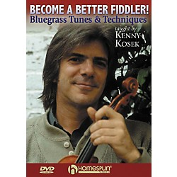 Homespun Become a Better Fiddler - Bluegrass Tunes and Techniques (DVD) (641948)