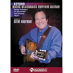 Homespun Beyond Basic Bluegrass Rhythm Guitar (DVD) (642090)