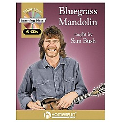 Homespun Bluegrass Mandolin (Book/CD) (641574)