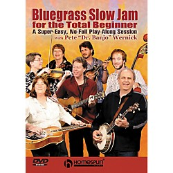 Homespun Bluegrass Slow Jam for the Total Beginner - Any Instrument (DVD) (641916)