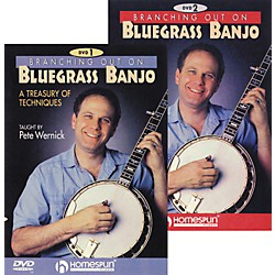 Homespun Branching Out On Bluegrass Banjo 2-DVD Set (641767)