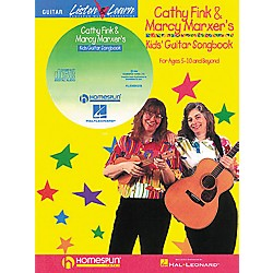 Homespun Cathy Fink & Marcy Marxer's Kids' Guitar Songbook with CD (695258)