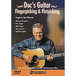 Homespun Doc Watson Fingerpicking and Flatpicking (DVD) (641544)