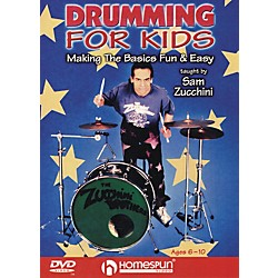Homespun Drumming For Kids - Making the Basics Easy (DVD) (641774)