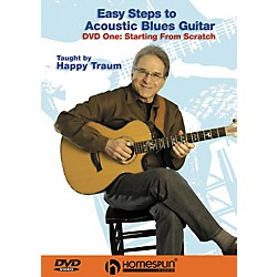 Homespun Easy Steps to Acoustic Blues Guitar (DVD) (641834)