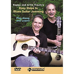 Homespun Easy Steps to Blues Guitar Jamming (DVD) (641919)