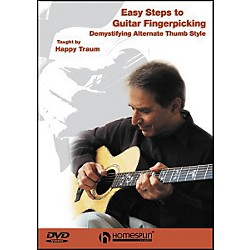 Homespun Easy Steps to Guitar Fingerpicking 1 (DVD) (641546)