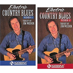 Homespun Electric Country Blues 2-Video Set (VHS) (641331)
