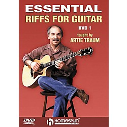 Homespun Essential Riffs for Guitar (DVD) (641609)