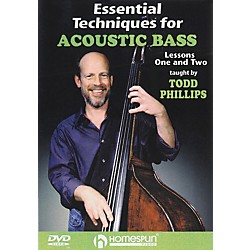 Homespun Essential Techniques for Acoustic Bass (DVD) (641680)