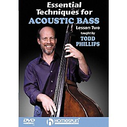Homespun Essential Techniques for Acoustic Bass 1 (DVD) (641672)
