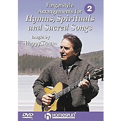 Homespun Fingerstyle Arrangements for Hymns, Spirituals and Sacred Songs 2 (DVD) (641675)