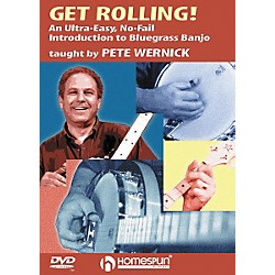 Homespun Get Rolling - An Ultra-Easy, No-Fail Introduction to Bluegrass Banjo (DVD) (641671)