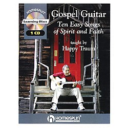 Homespun Gospel Guitar Taught by Happy Traum Book with CD (841706)