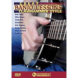 Homespun Great Banjo Lessons: Clawhammer Style DVD (125928)
