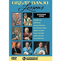 Homespun Great Banjo Lessons Bluegrass Style (DVD) (642010)