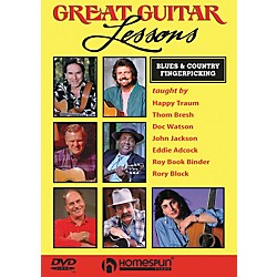 Homespun Great Guitar Lessons - Blues & Country Fingerpicking (DVD) (641989)