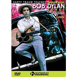 Homespun Happy Traum Teaches Seven Classic Bob Dylan Songs on Guitar 2 DVD Set (642016)