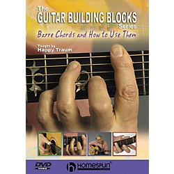 Homespun Happy Traum's Guitar Building Blocks: Bar Chords 1 (DVD) (641796)