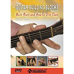 Homespun Happy Traum's Guitar Building Blocks: Bass Runs 2 (DVD) (641797)