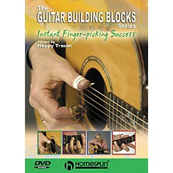 Homespun Happy Traum's Guitar Building Blocks: Fingerpicking 3 (DVD) (641798)