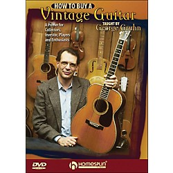 Homespun How To Buy A Vintage Guitar - By George Gruhn DVD (642128)