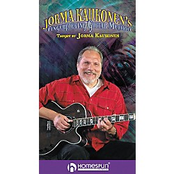 Homespun Jorma Kaukonen's Fingerpicking Guitar Method 2-Video Set (VHS) (641616)