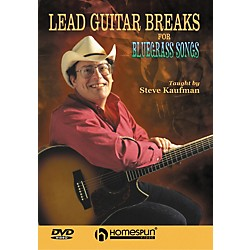 Homespun Lead Guitar Breaks for Bluegrass Songs (DVD) (641859)