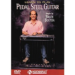 Homespun Learn To Play Pedal Steel Guitar (DVD) (641743)