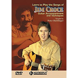 Homespun Learn To Play the Songs of Jim Croce on Guitar (DVD) (641942)
