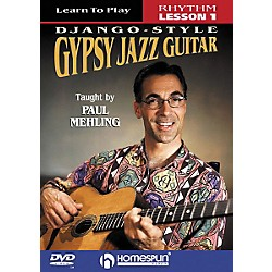 Homespun Learn to Play Django-Style Gypsy Jazz Guitar 1 (DVD) (641705)