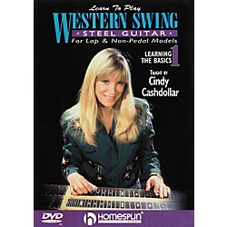 Homespun Learn to Play Western Swing Steel Guitar Lesson 1 Learning the Basics (DVD) (641744)