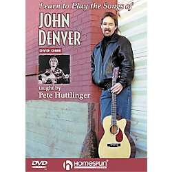 Homespun Learn to Play the Songs of John Denver - Level 2 (DVD) (641551)