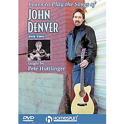 Homespun Learn to Play the Songs of John Denver - Level 3 (DVD) (641552)
