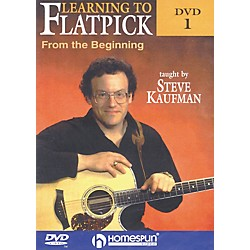 Homespun Learning to Flatpick From the Beginning DVD 1 with Tab (642045)