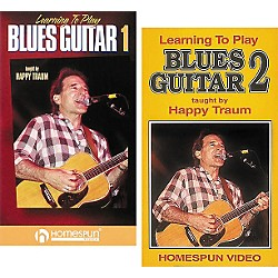Homespun Learning to Play Blues Guitar 2-Video Set (VHS) (641004)
