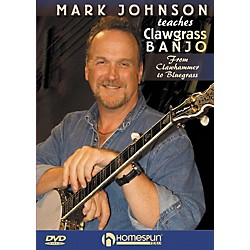 Homespun Mark Johnson Teaches Clawgrass Banjo (DVD) (642087)